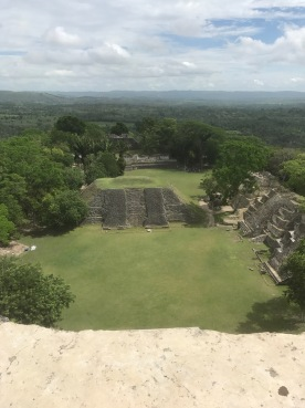highest point on the ruins