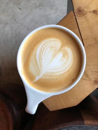 lavender rosemary latte