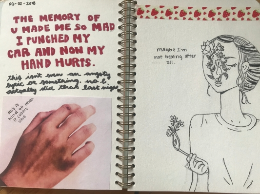 from my most recent journal